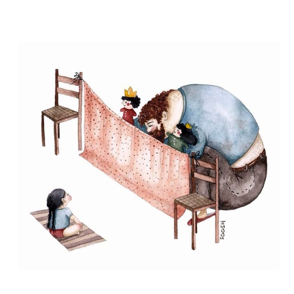 Миколаївська художниця викликала в світі фурор ніжними ілюстраціями батьківської любові - фото 7
