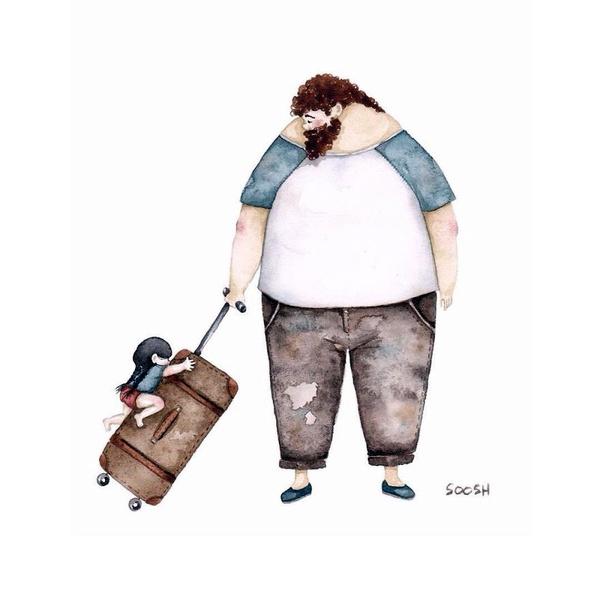 Миколаївська художниця викликала в світі фурор ніжними ілюстраціями батьківської любові - фото 8