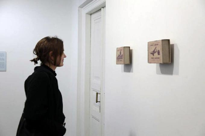 Миколаївський художник епатував публіку картинами на сірникових коробках - фото 4