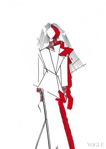 В Інтернет потрапили ескізи сукні Джамали для Євробачення  - фото 1