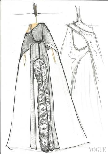 В Інтернет потрапили ескізи сукні Джамали для Євробачення  - фото 2