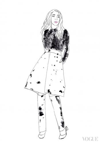 В Інтернет потрапили ескізи сукні Джамали для Євробачення  - фото 3