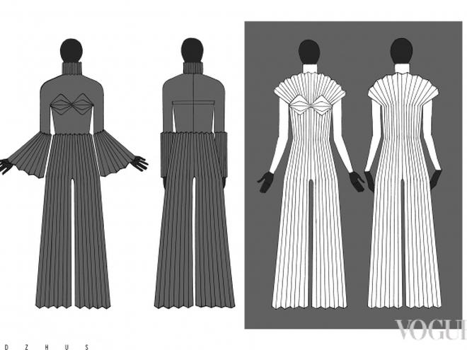 В Інтернет потрапили ескізи сукні Джамали для Євробачення  - фото 4