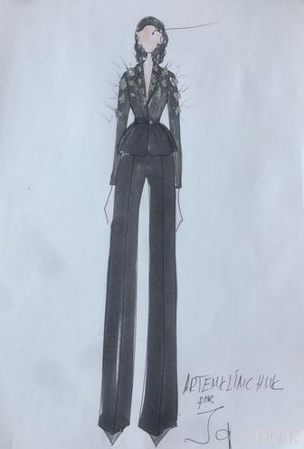 В Інтернет потрапили ескізи сукні Джамали для Євробачення  - фото 5