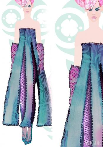 В Інтернет потрапили ескізи сукні Джамали для Євробачення  - фото 6