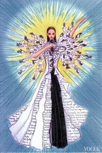 В Інтернет потрапили ескізи сукні Джамали для Євробачення  - фото 7