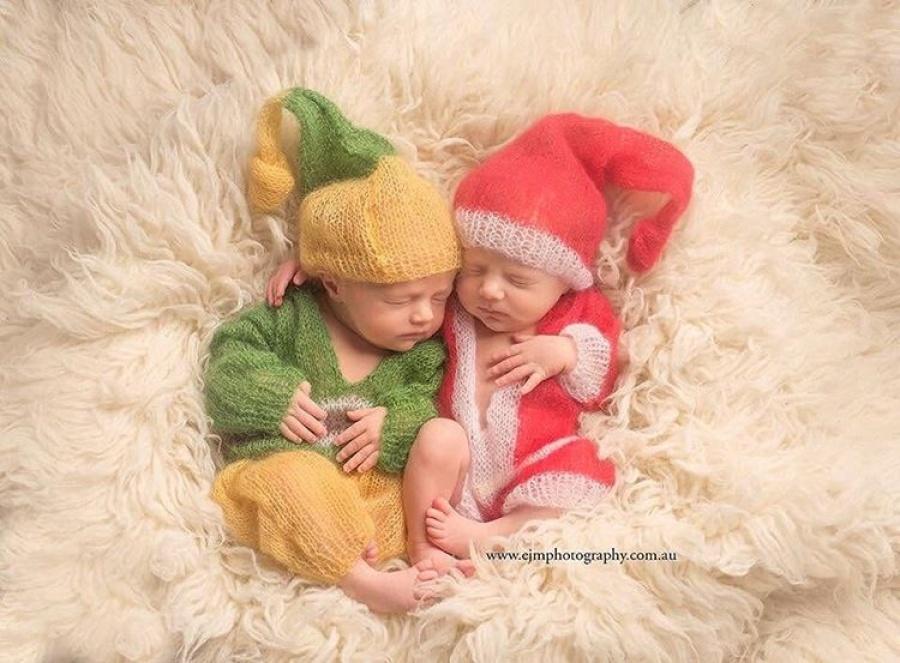 ТОП-15 надзвичайних різдвяних фотосесій немовлят  - фото 12