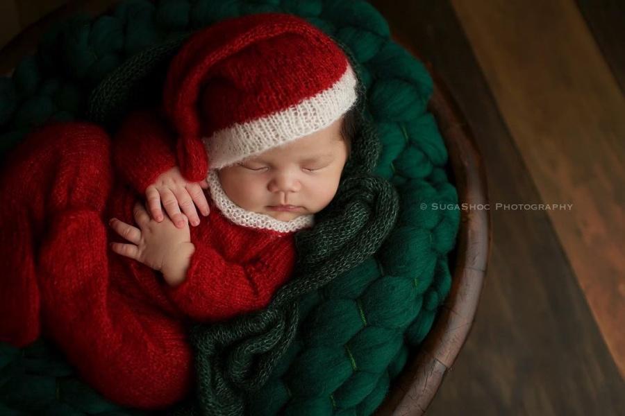 ТОП-15 надзвичайних різдвяних фотосесій немовлят  - фото 11