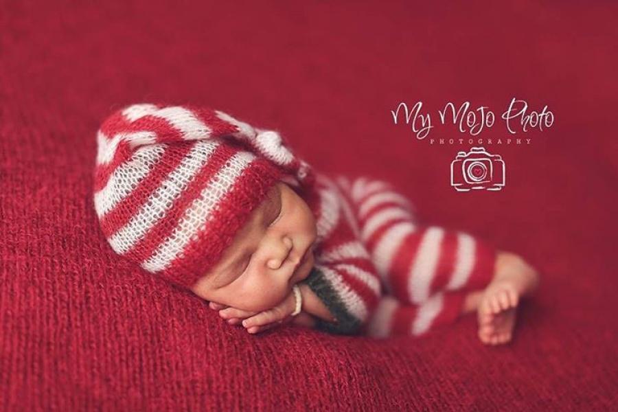 ТОП-15 надзвичайних різдвяних фотосесій немовлят  - фото 9