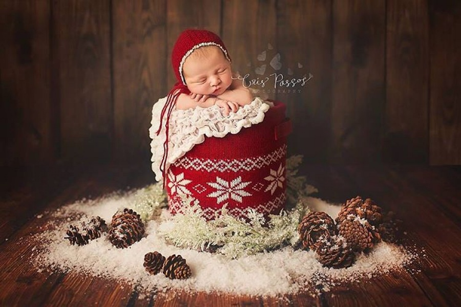 ТОП-15 надзвичайних різдвяних фотосесій немовлят  - фото 8