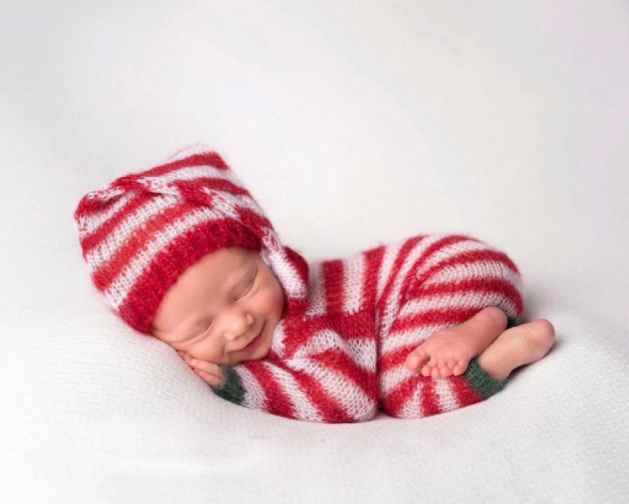 ТОП-15 надзвичайних різдвяних фотосесій немовлят  - фото 7