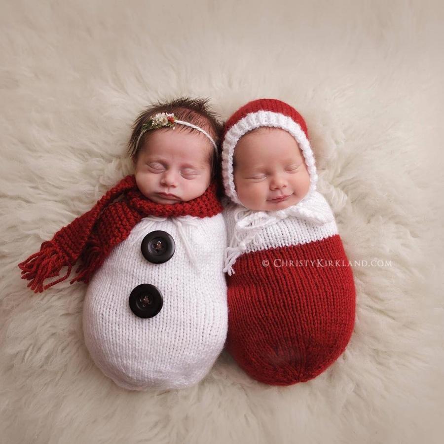 ТОП-15 надзвичайних різдвяних фотосесій немовлят  - фото 6
