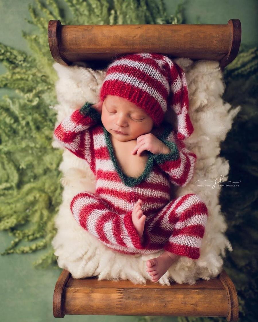 ТОП-15 надзвичайних різдвяних фотосесій немовлят  - фото 5