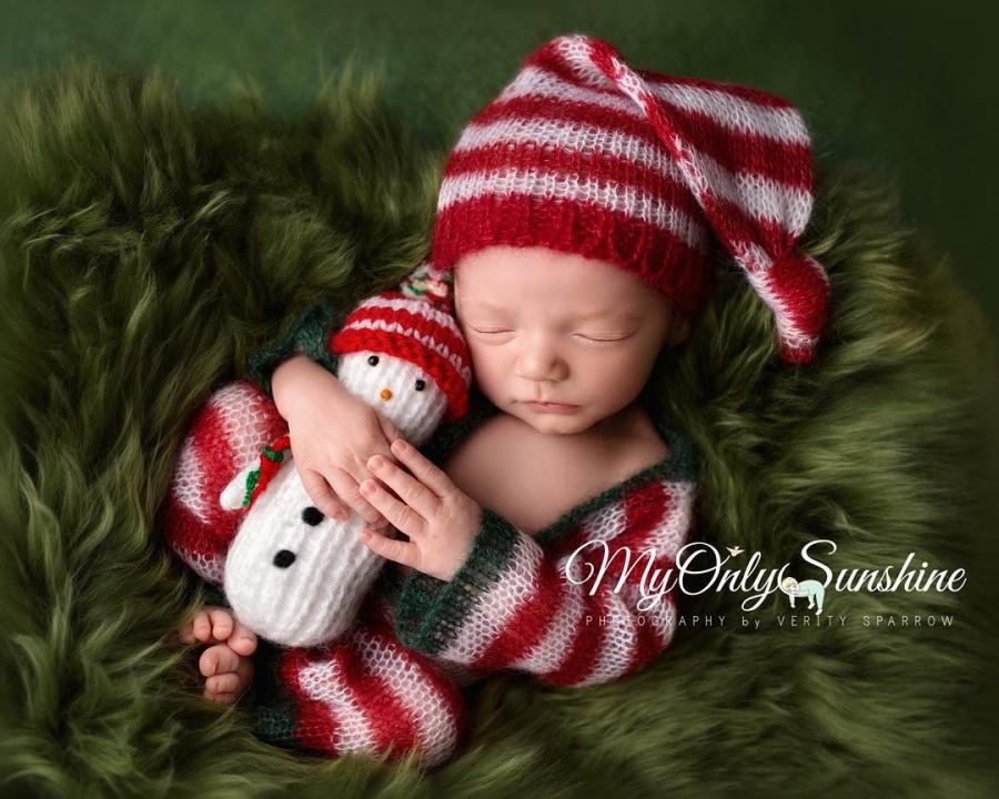 ТОП-15 надзвичайних різдвяних фотосесій немовлят  - фото 3