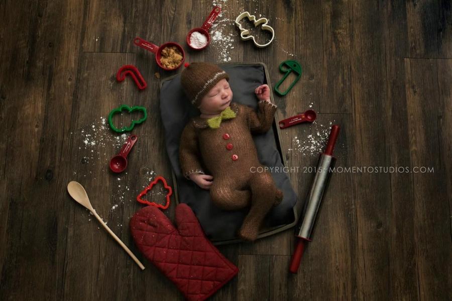 ТОП-15 надзвичайних різдвяних фотосесій немовлят  - фото 2