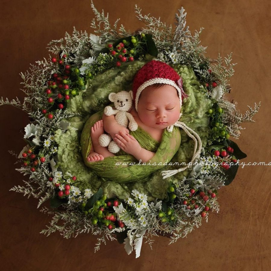 ТОП-15 надзвичайних різдвяних фотосесій немовлят  - фото 1