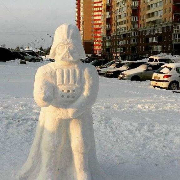 ТОП-5 найгарніших сніговиків Києва - фото 3