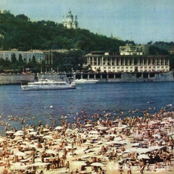 Як пляжі Києва виглядали 40 років тому - фото 1