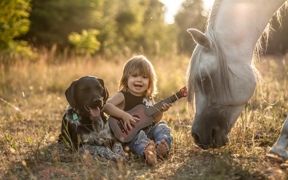 Коли слова зайві: як діти спілкуються з тваринами  - фото 10