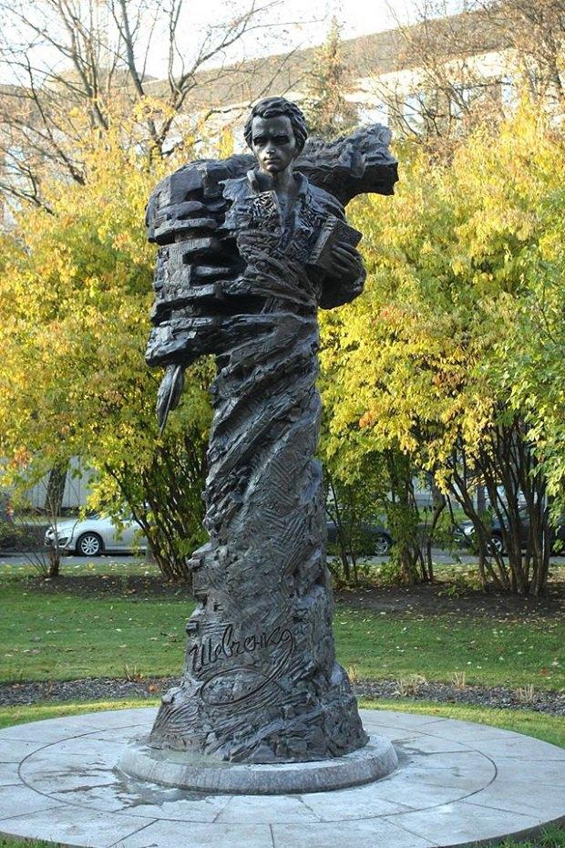 У Ризі відкрили пам'ятник Тарасу Шевченку - фото 1