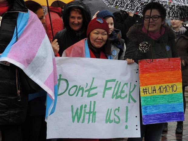 """""""Усі рівні, усі гідні!"""": Як Радою мітингують за """"безвізові"""" закони  - фото 6"""