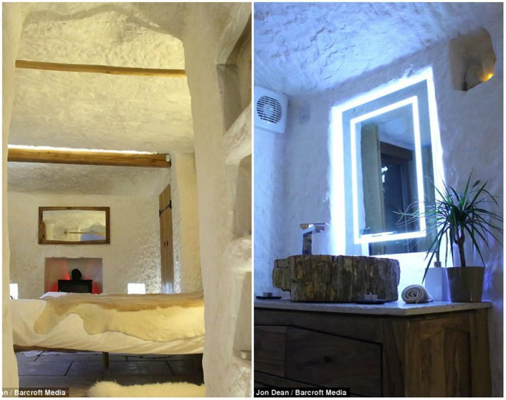 Як чоловік зі звичайної печери зробив люкс-апартаменти з Wi-Fi - фото 4