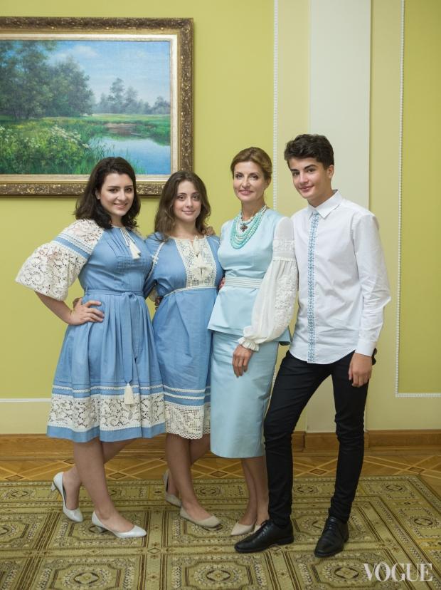 Яке вбрання обрала президентська родина до Дня Незалежності  - фото 3
