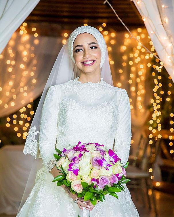 ТОП-10 неймовірних весільних хіджабів  - фото 1