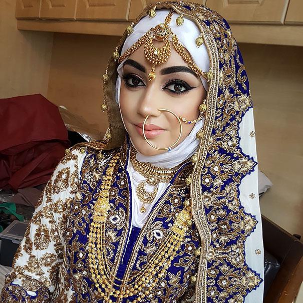 ТОП-10 неймовірних весільних хіджабів  - фото 2