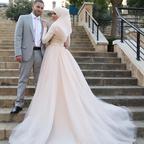 ТОП-10 неймовірних весільних хіджабів  - фото 3