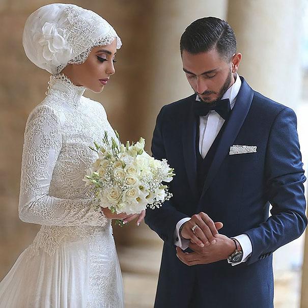 ТОП-10 неймовірних весільних хіджабів  - фото 4