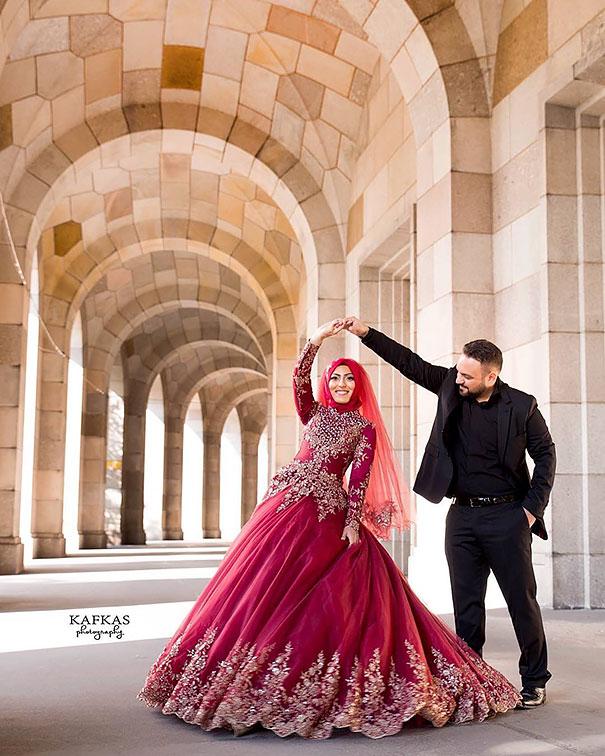 ТОП-10 неймовірних весільних хіджабів  - фото 5