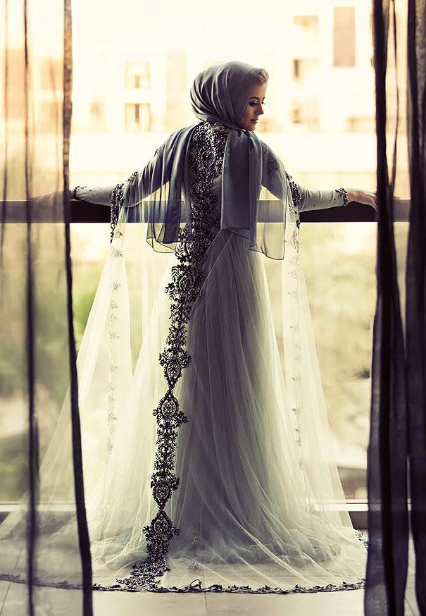 ТОП-10 неймовірних весільних хіджабів  - фото 6