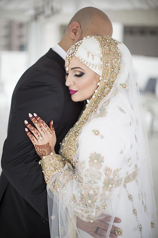 ТОП-10 неймовірних весільних хіджабів  - фото 7