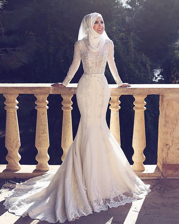 ТОП-10 неймовірних весільних хіджабів  - фото 9