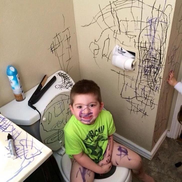 20 фотографій про те, чому з дітьми ніколи не буває нудно - фото 5