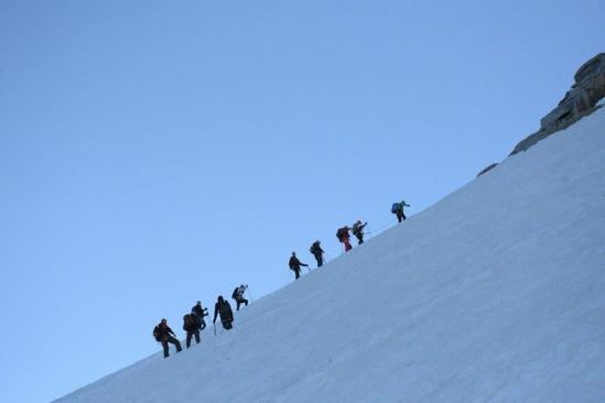 Харківській альпініст підкорив найвищу вершину Італії - фото 2