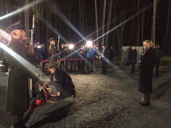 Дуда у Києві вшанував жертв політичних репресій - фото 1