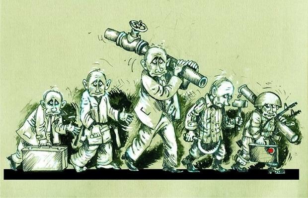 В українському конкурсі карикатур на Путіна переміг росіянин - фото 2