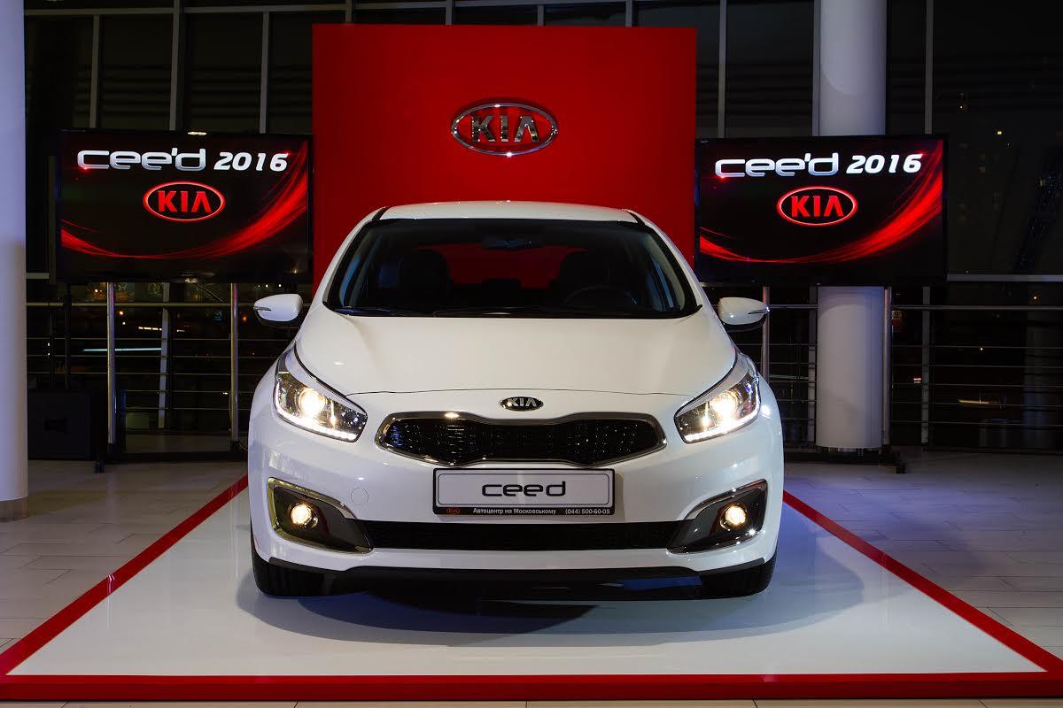 В Україні розпочинаються продажі оновленого Kia cee'd - фото 1