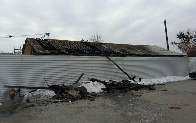 У Києві горів завод залізобетонних виробів - фото 1
