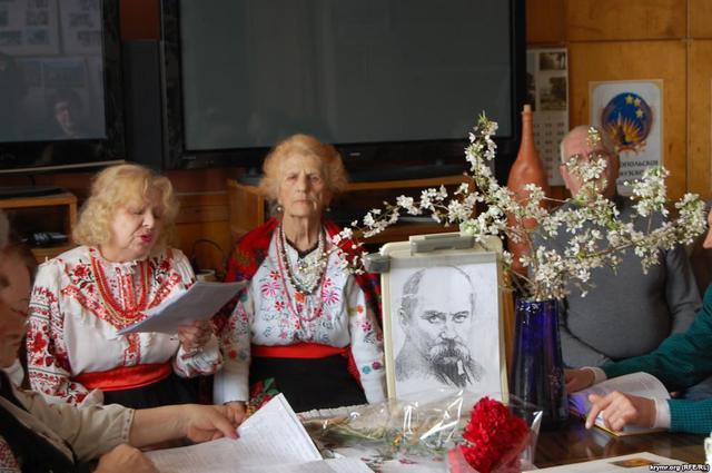 В окупованому Криму пройшли Шевченківські літературні читання - фото 1