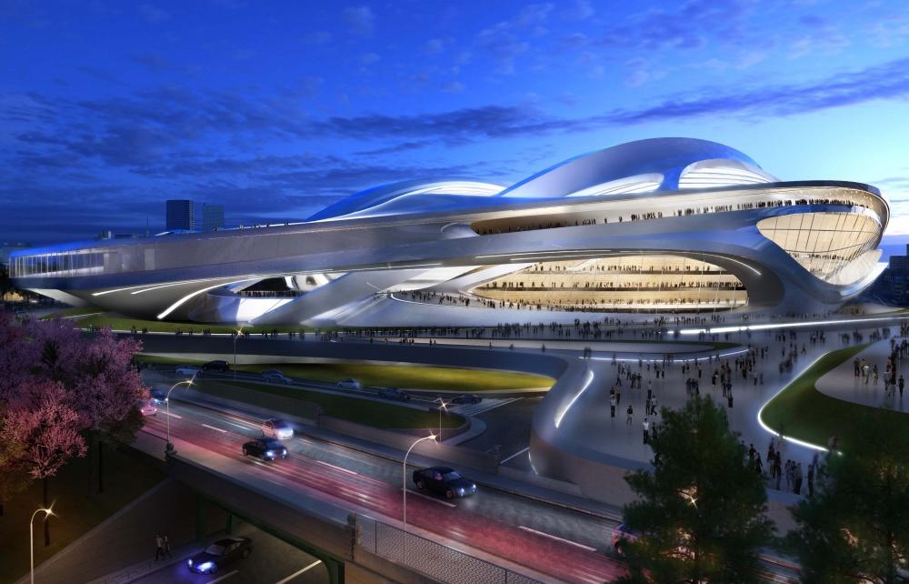 Надзвичайні будівлі архітектора Захи Хадід - фото 14