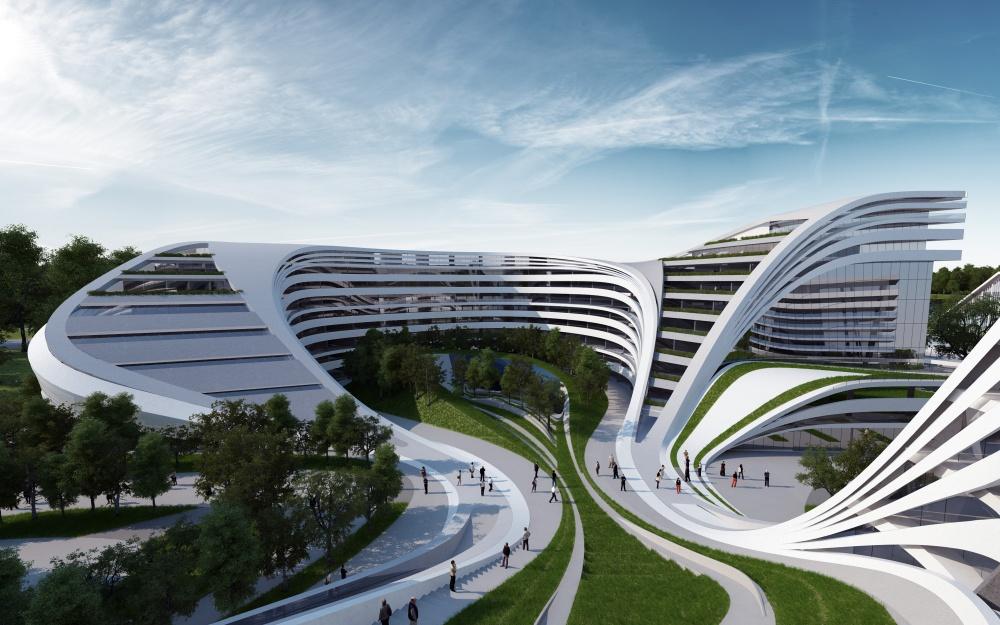 Надзвичайні будівлі архітектора Захи Хадід - фото 11