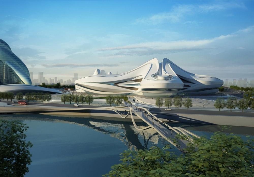 Надзвичайні будівлі архітектора Захи Хадід - фото 5