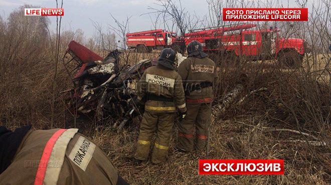 На Росії розбився черговий літак. Пілоти загинули - фото 1