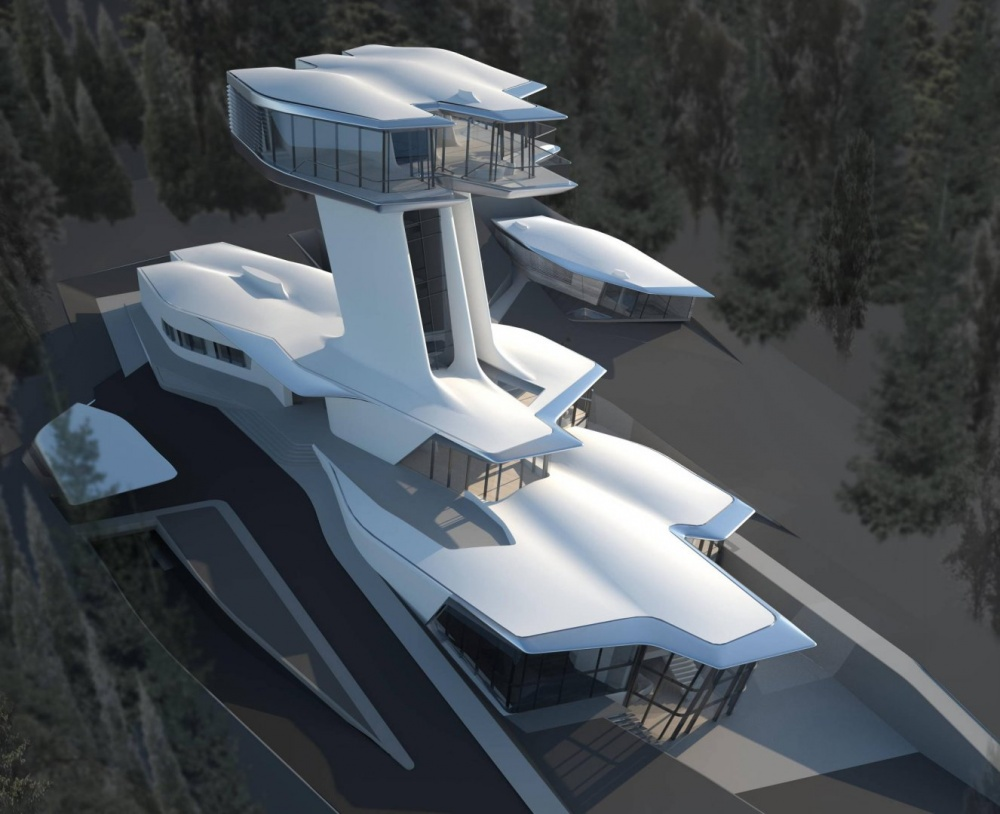 Надзвичайні будівлі архітектора Захи Хадід - фото 1