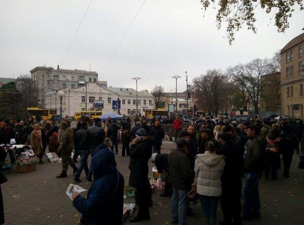 УКРОПівці зібралися пікетували Раду - фото 2
