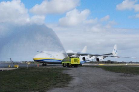 """Український Ан-225 """"Мрія"""" прилетів до Австралії - фото 1"""