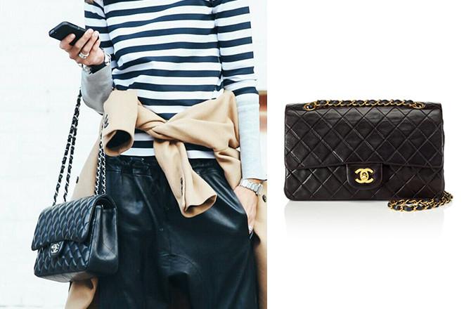 8a5cbbbd104a Сегодня практически все фирмы выпускают маленькие сумочки на цепочках, но  придумала их Коко Шанель, и именно ее модель Chanel 2.55 стала той самой  визитной ...